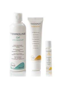 Thiospot Core Solution Terproline Gentle Cleansing Gel, Thiospot Intensive, Thiospot Skin Roller